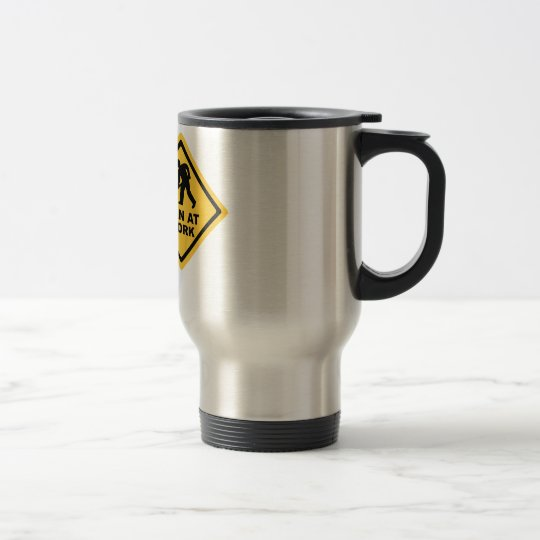 Construction Worker Travel Mug