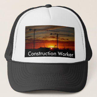 Construction Worker Trucker Hat