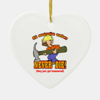 Construction Workers Christmas Ornament
