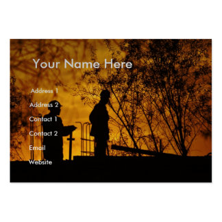 Construction Workers II Large Business Cards (Pack Of 100)
