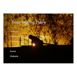 Construction Workers III Large Business Cards (Pack Of 100)