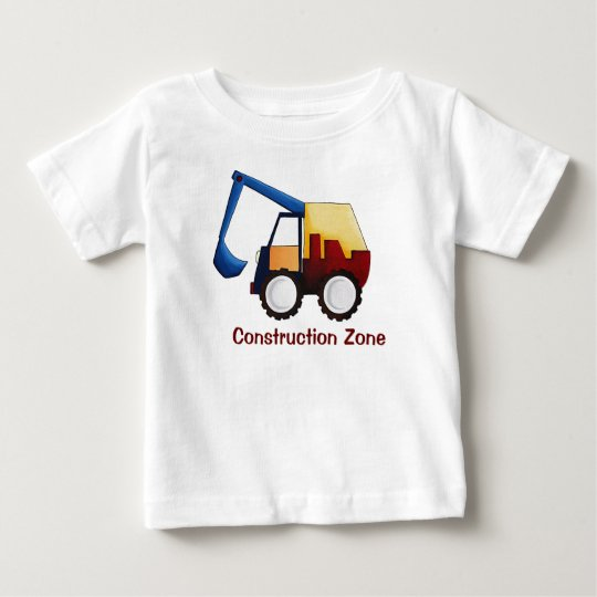 Construction Zone Baby T-Shirt