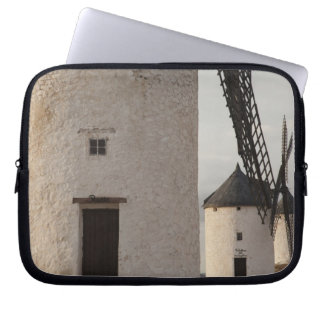Consuegra, antique La Mancha windmills 2 Computer Sleeve
