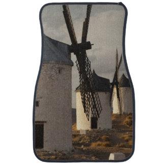 Consuegra, antique La Mancha windmills 6 Car Mat