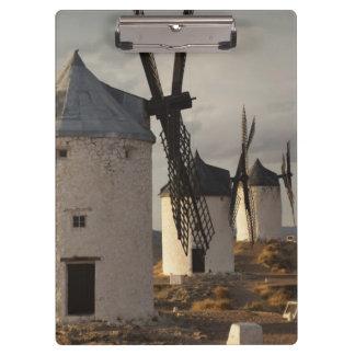 Consuegra, antique La Mancha windmills 6 Clipboard