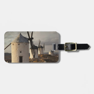 Consuegra, antique La Mancha windmills 6 Luggage Tag