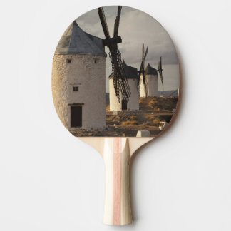 Consuegra, antique La Mancha windmills 6 Ping Pong Paddle