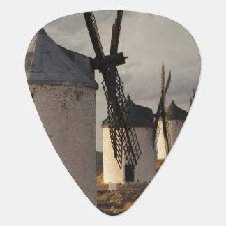 Consuegra, antique La Mancha windmills 6 Plectrum