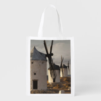 Consuegra, antique La Mancha windmills 6 Reusable Grocery Bag