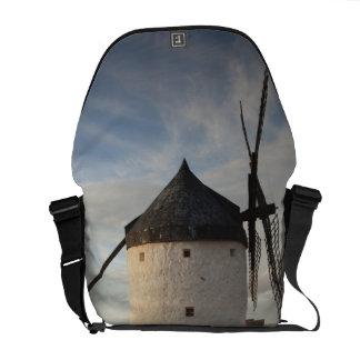 Consuegra, antique La Mancha windmills 7 Courier Bag