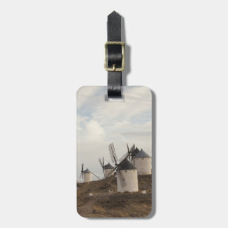 Consuegra, antique La Mancha windmills Luggage Tag