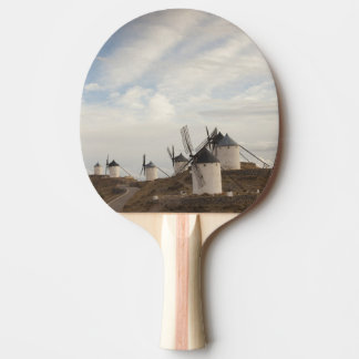 Consuegra, antique La Mancha windmills Ping Pong Paddle