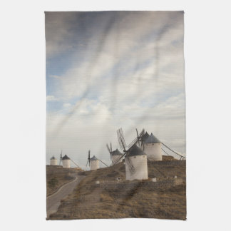 Consuegra, antique La Mancha windmills Tea Towel