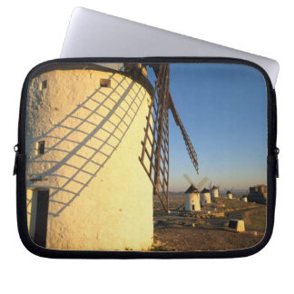 Consuegra, La Mancha, Spain, windmills and Computer Sleeves