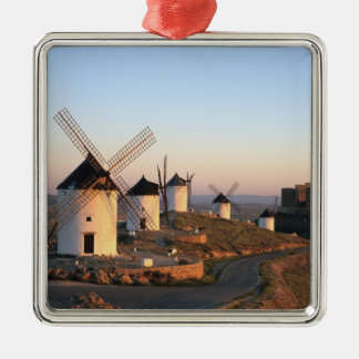 Consuegra, La Mancha, Spain, windmills Christmas Ornament