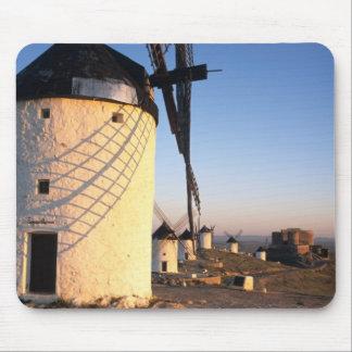Consuegra, La Mancha, Spain, windmills Mouse Mat
