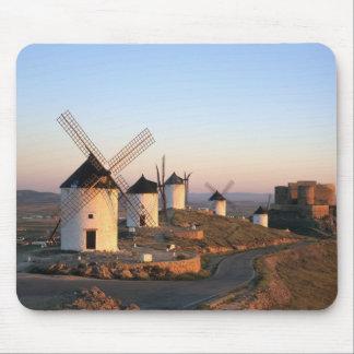 Consuegra, La Mancha, Spain, windmills Mouse Pad