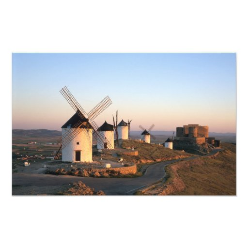 Consuegra, La Mancha, Spain, windmills Photo