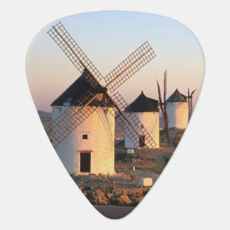 Consuegra, La Mancha, Spain, windmills Plectrum