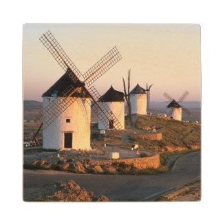 Consuegra, La Mancha, Spain, windmills Wood Coaster