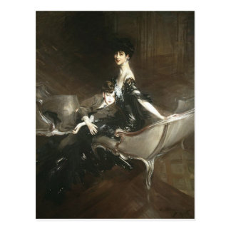 Consuelo Vanderbilt and Son Ivor, Giovanni Boldini Postcard