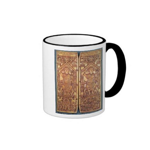 Consular diptych Anastasius  carved Mug