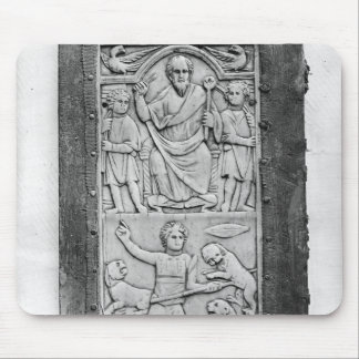 Consular diptych of Aetius, left hand panel Mouse Pad