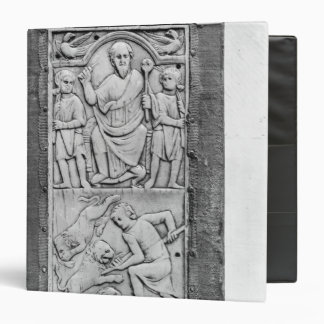 Consular diptych of Aetius, right hand panel Binders