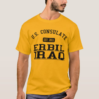 Consulate General Erbil, Iraq T-Shirt
