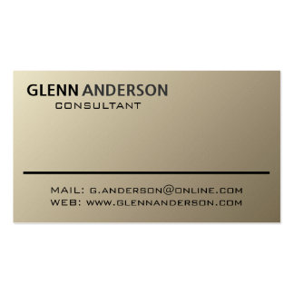 Consultant - Business Cards