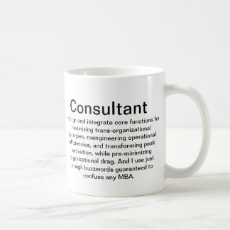 Consultant Explanation Cup Basic White Mug