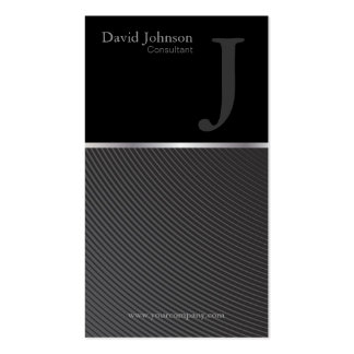 Consultant Monogram Pack Of Standard Business Cards