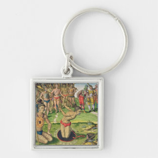 Consulting a Sorcerer, from 'Brevis Narratio' Key Chains