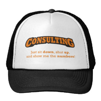 Consulting-Numbers Cap