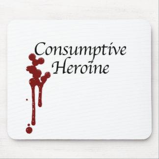 Consumptive Heroine Mouse Pad