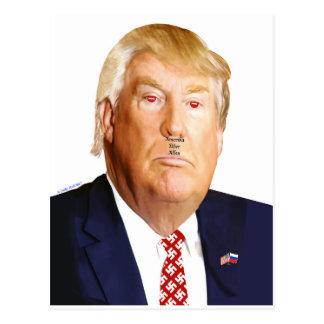 Contact Donald J. Trump postcard