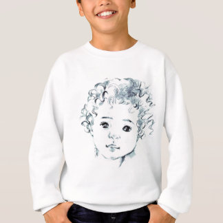 Contact me to create your portrait before ordering sweatshirt