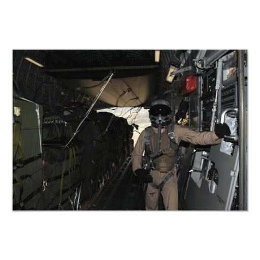 Container Delivery System bundles exit a C-17 Photo Print