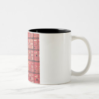 Container Rotterdam two tone Two-Tone Coffee Mug