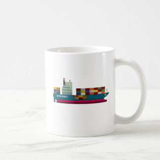 Container Ship Coffee Mug