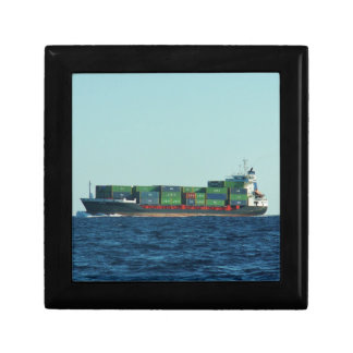 Container Ship Gift Box