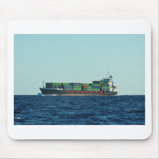 Container Ship Mouse Mat