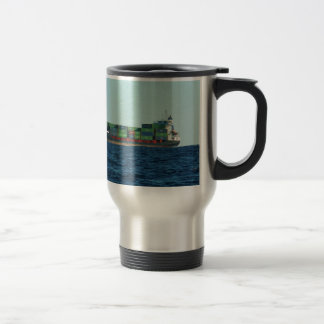 Container Ship Travel Mug