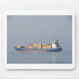 Container Ship Volos Mouse Mat