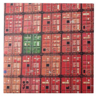 Containers in postage tile