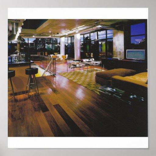 contempary penthouse print