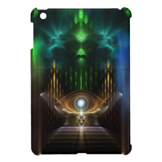 Contemplating Oz Fractal Art iPad Mini Case
