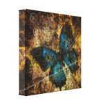 Contemplating The Butterfly Effect Gallery Wrap Canvas