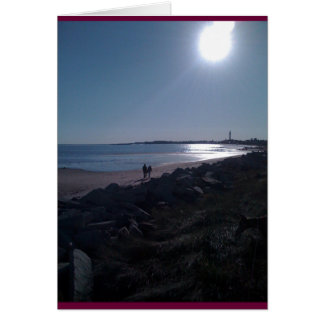Contemplation on Cape Cod Card