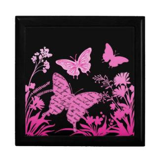 Contempo Butterflies....lidded box Trinket Box